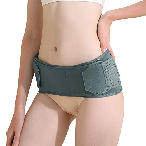 KDD Si Joint Belt - Sacroiliac Belt Support for Lower Back, Pelvic, Hip and Sciatic Pain, Maternity Pregnancy Support - Adjustable, Anti-Slip & Pilling-Resistant (Regular, Fits Hip Size 31-41 inch)
