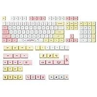 DIYキーキャプス 146キーXDAプロファイルPBT Macaron KeyCAPS Quey Sublimation for Keycher GH60 GK61 61 64 87 104 108 Keys Cherry MXスイッチメカニカルキーボードキーカプセットゲーム恋人ギフト アクセサリー