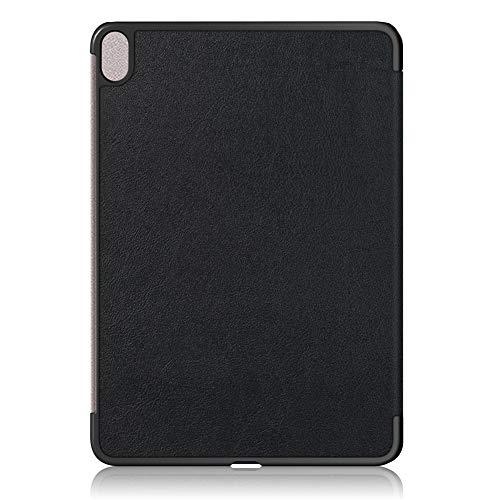 MAGFUN Funda Protectora de Tableta Custer Tres Pliegues Funda Suave Tablet PC Adecuado para Air 4 10,9 Pulgadas Negro