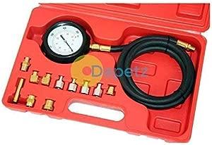 Dapetz Wave Box Oil Pressure Meter Test Kit Tester Gauge Diesel Petrol Car