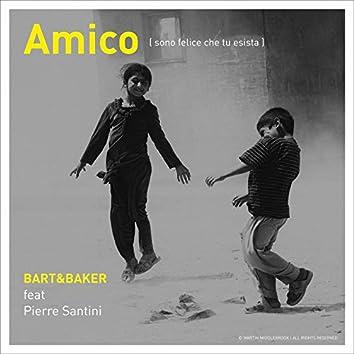 Amico (Sono felice che tu esista) [feat. Pierre Santini] - Single (feat. Pierre Santini)