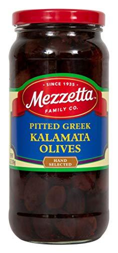 Mezzetta Kalamata Olives, Pitted, 9.5 Ounce