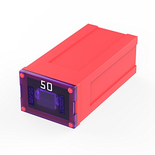 Preisvergleich Produktbild AUPROTEC JCASE Blocksicherung Female OTO J Japan 20A - 60A Auswahl: 50A Ampere rot,  1 Stück