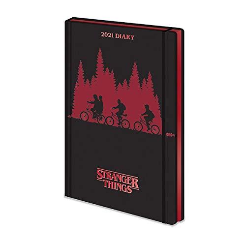 Stranger Things Kalenderbuch 2021 Unisex Kalenderbuch multicolor Papier Fan-Merch, Film, TV-Serien