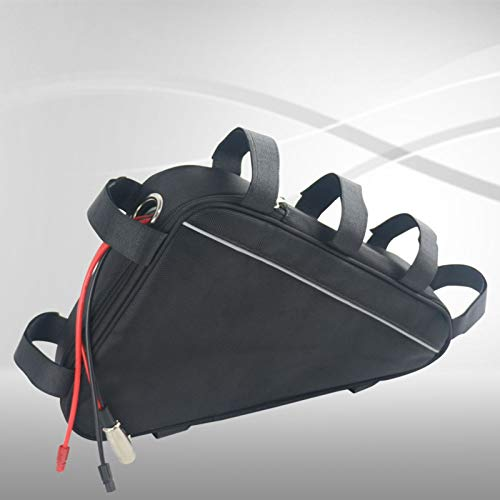 E-Bike Akku 48V 17Ah 816Wh Lithium-Ionen Rahmenakku in Triangel Tasche Batterie incl.BMS & Ladegerät