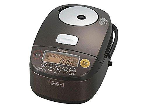 ZOJIRUSHI IH pressure rice cooker KIWAMEDAKI NP-BF10-TD (5.5 Go cook / 750g) (Dark brown)