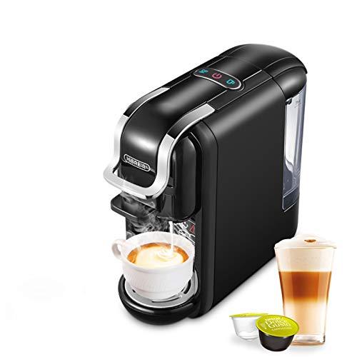 GMZS 4-en-1 Multi-Cápsula Máquina de Espresso, programable Máquina de café, Conveniente para Nescafé Máquina de café,AU