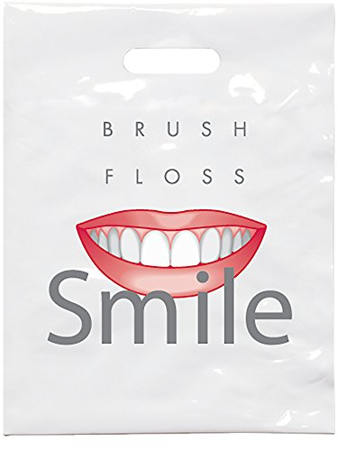 Practicon 1109631 Brush Floss C Patient Care Bags, 9