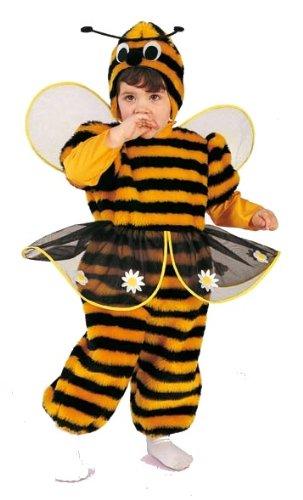 Rio - 103342/tg00 - Costume Enfant - La Petite Abeille En Peluche - 1-2 Ans
