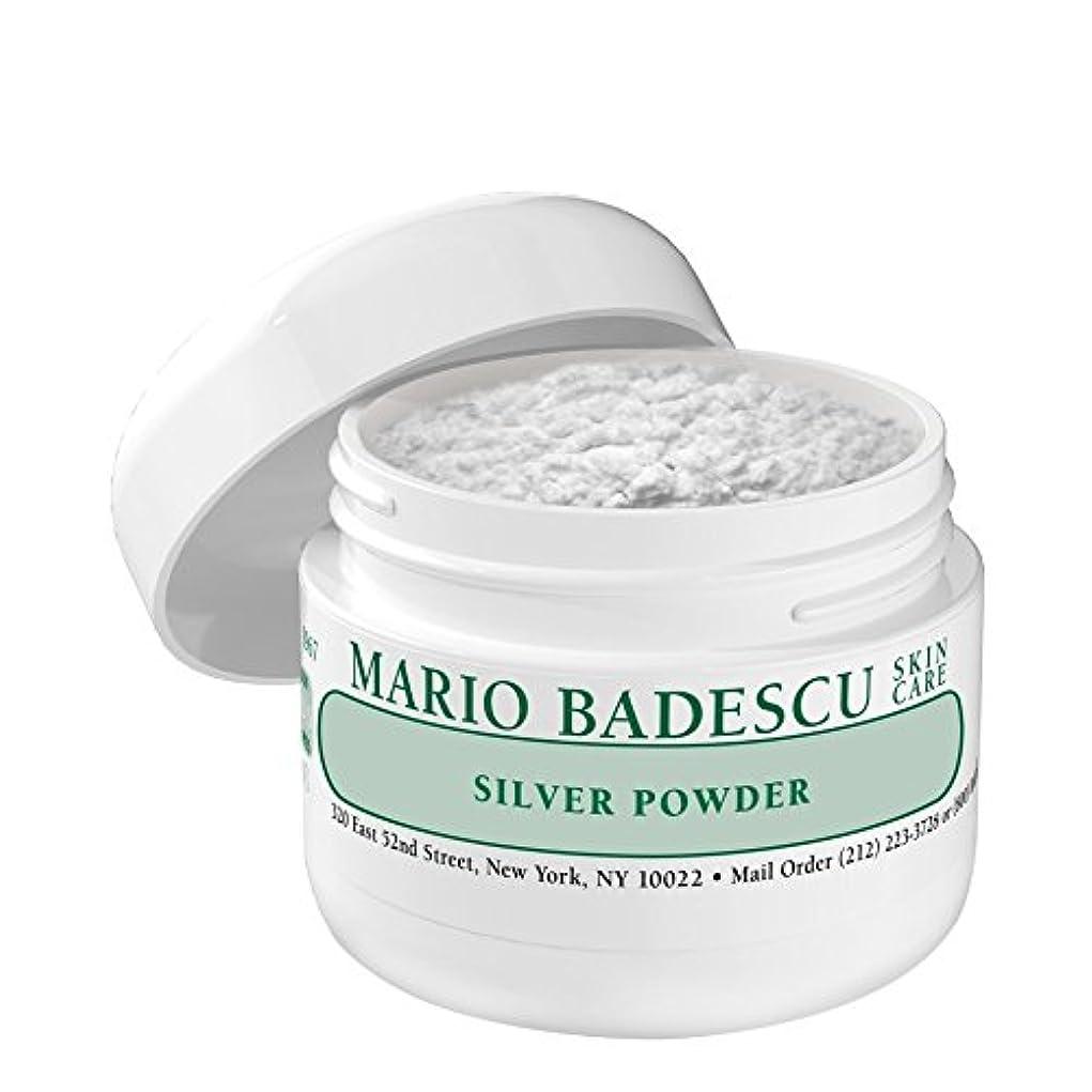 ハッチイヤホンアトラスMario Badescu Silver Powder (Pack of 6) - マリオ?バデスキュー銀粉末 x6 [並行輸入品]