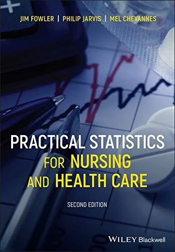41CBVfB19vL - Practical Statistics for Nursing and Health Care