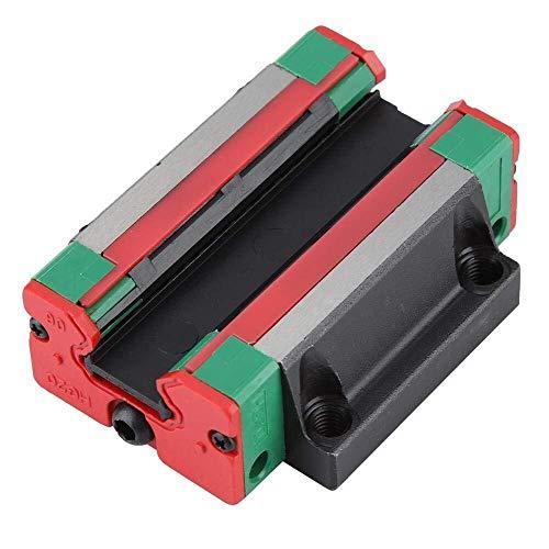 Mozusa Bloque deslizante, HGW20 lineares del carril de deslizamiento de bloques del carro CNC accesorios de 20 mm / 0.8in for la herramienta de máquina CNC máquinas de automatización de máquinas texti