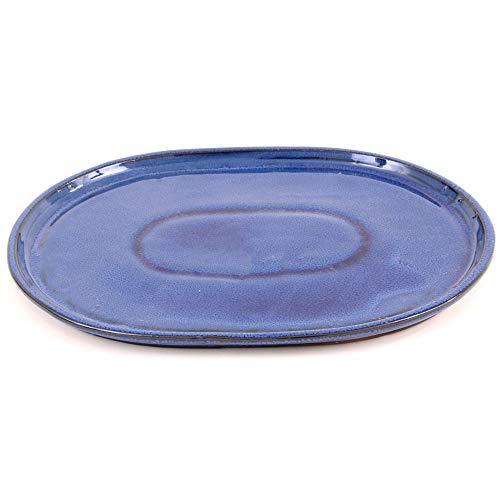 Bonsai - Untersetzer oval 31 x 24 cm, blau 54310
