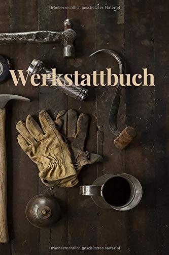 Werkstattbuch: Ein Handwerker/Auftragsbuch liniert Din A5
