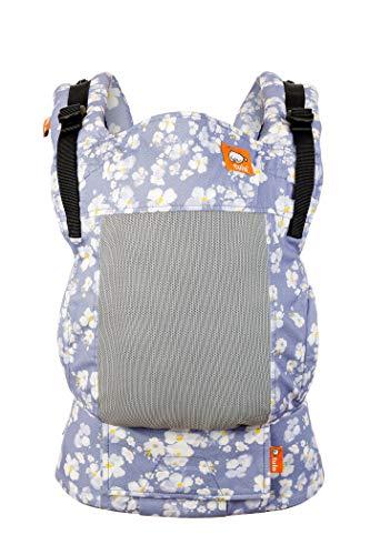 Tula Free-to-Grow Coast TBCP7F61 Sophia Porte-bébé réglable en largeur et en hauteur pour bébés de 3,2 à 20,4 kg sans coussin bébé