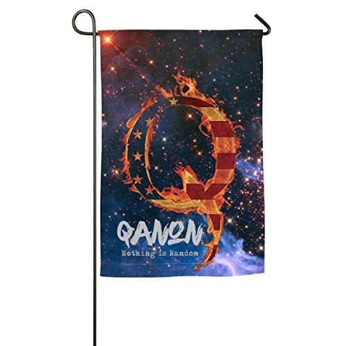 Xhayo Flagge Fahnen QAnon Feuer Q Amerika Zufällige Deepstate Willkommen Urlaub Hof Outdoor Haus Flaggen Banner Party Home Decor Weihnachtsdekorationen
