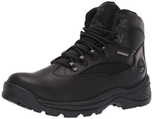 Timberland Men's Chocorua Trail Mid Waterproof Hiking Boot, Black, 12 D - Medium