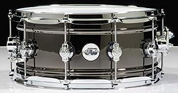 DW Design Series Black Nickel over Brass Snare Drum 14x6.5 Inch