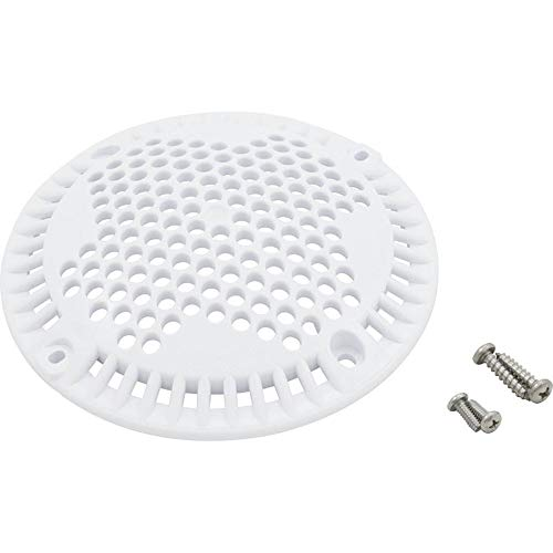 """Jacuzzi Cover, Carvin MD Series, 88 gpm, 7-3/16""""OD, White"""