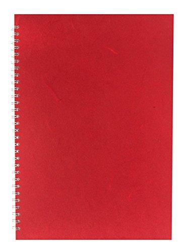 Pink Pig Posh Silk - Cuaderno de bocetos (A3, vertical), color rojo