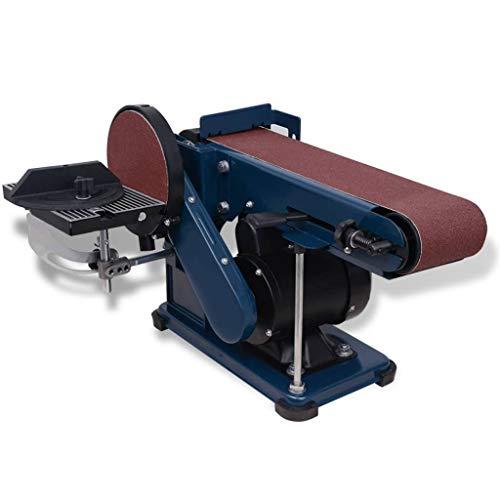 vidaXL Bandschleifer 375W Tellerschleifer Bandschleifmaschine Schleifmaschine