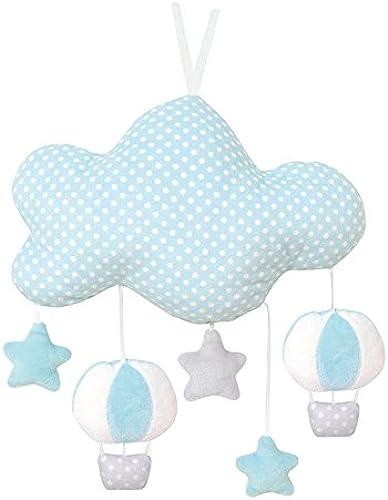 Jabadabado N0101Musique Housse de nuage, Bleu - version anglaise