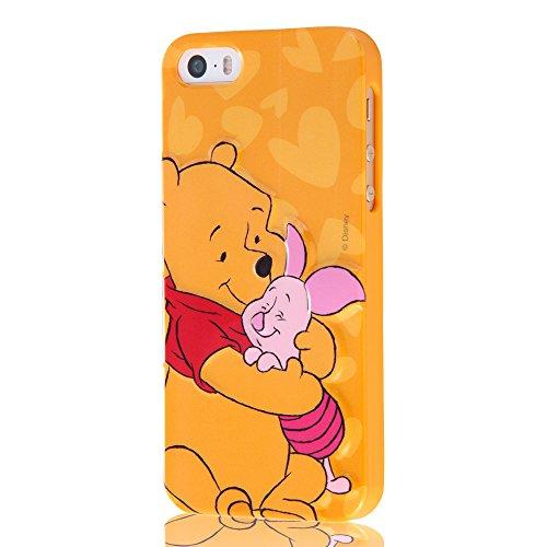 レイ・アウト iPhone SE/iPhone5s/iPhone5 ケース ディズニー・キャラクター・3Dレリーフ・ソフトジャケッ...
