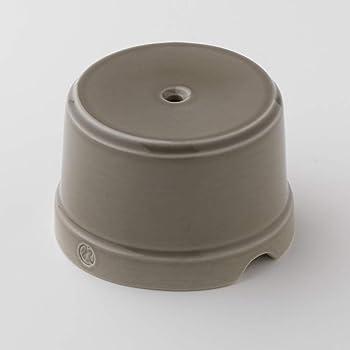 Klartext BELLE EPOQUE - Caja de derivación (75 mm de diámetro, porcelana), diseño vintage, color gris: Amazon.es: Bricolaje y herramientas
