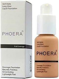 PHOERA 30ml Foundation Liquid, Foundation Full Coverage 24HR