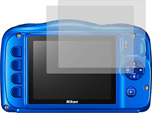 2X Crystal Clear klar Schutzfolie für Nikon Coolpix W150 Bildschirmschutzfolie Displayschutzfolie Schutzhülle Bildschirmschutz Bildschirmfolie Folie