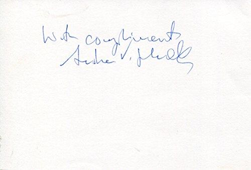Andrew Victor Schally original Autogramm/Autograph/signiert