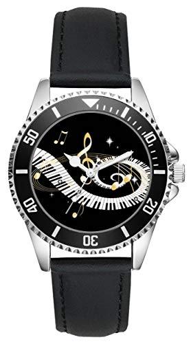 Geschenk für Klavier Keyboard Spieler Musiker Uhr L-2645