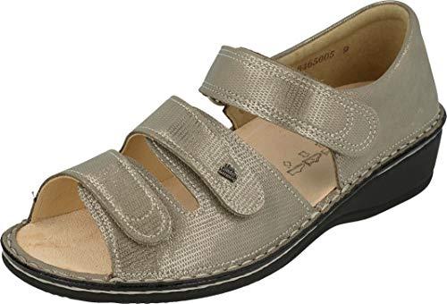 Finn Comfort Usedom (beige) - Damenschuhe Sandale bequem/lose Einlage, Beige