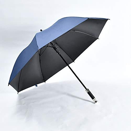 WZP-Golf Umbrella - Double Canopy, Extremely Durable Sun Brolly, Easy Care Umbrella, Ideal For Garden, Picnics & Patio,Blue