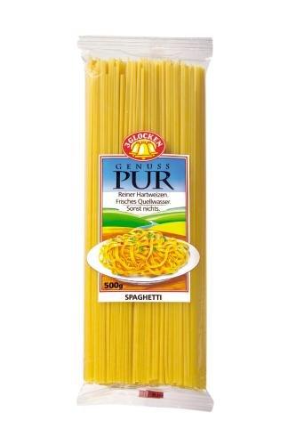 Birkel 3 Glocken Genuss Pur Spaghetti, 10er Pack (10 x 500 g Beutel)