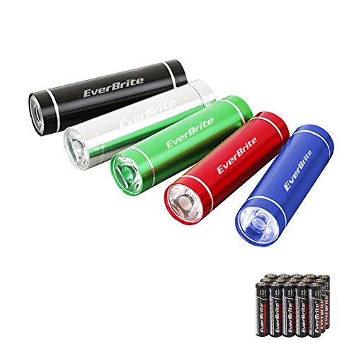 Everbrite linterna LED linterna Mini linterna ZOOMABLE linterna de campamento 5 piezas/lote