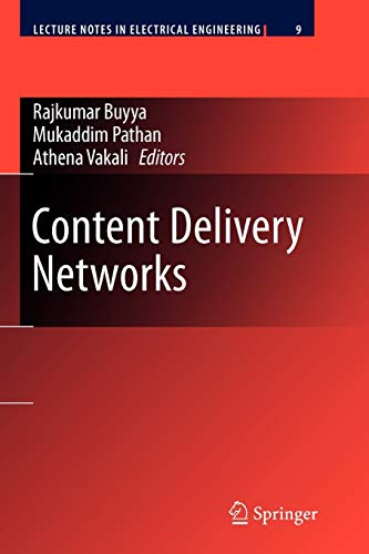 Content Delivery Networks (Lecture Notes in Electrical Engineering, Band 9)