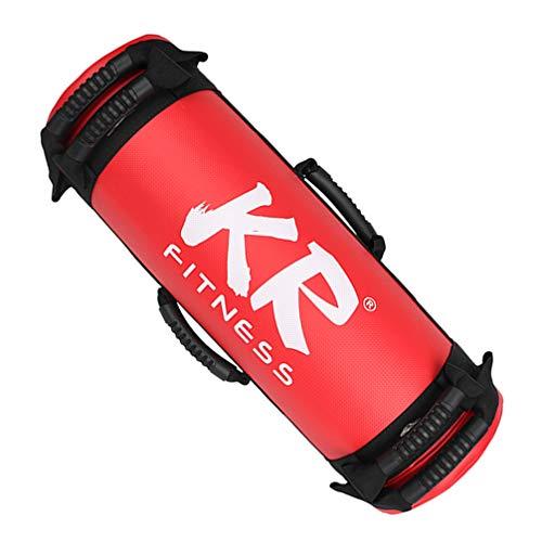 Wakauto 5 10 15 20Kg Peso Riempito Sabbia Power Bag Forza Allenamento Fitness Esercizio Allenamento Sandbag Durevole 10 kg Colore Casuale
