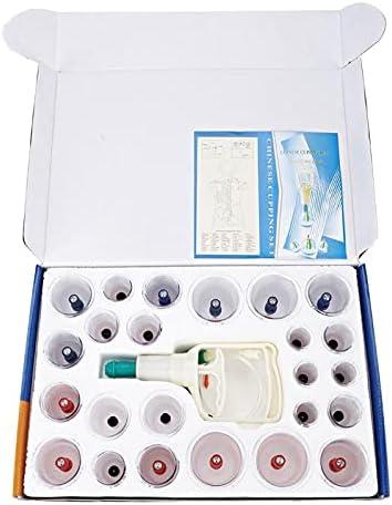 24 stks Chinese Vacu uuml;m Cupping Set Cups Zuig Acupunctuur Massage voor Volwassen Thuisgebruik