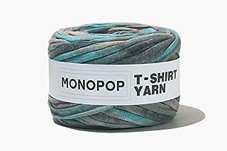 MONOPOP T-SHIRT YARN TIE DYE モノポップ Tシャツヤーン タイダイ ◆KOKOKOREA (BLUE BEIGE CHARCOAL) [並行輸入品]