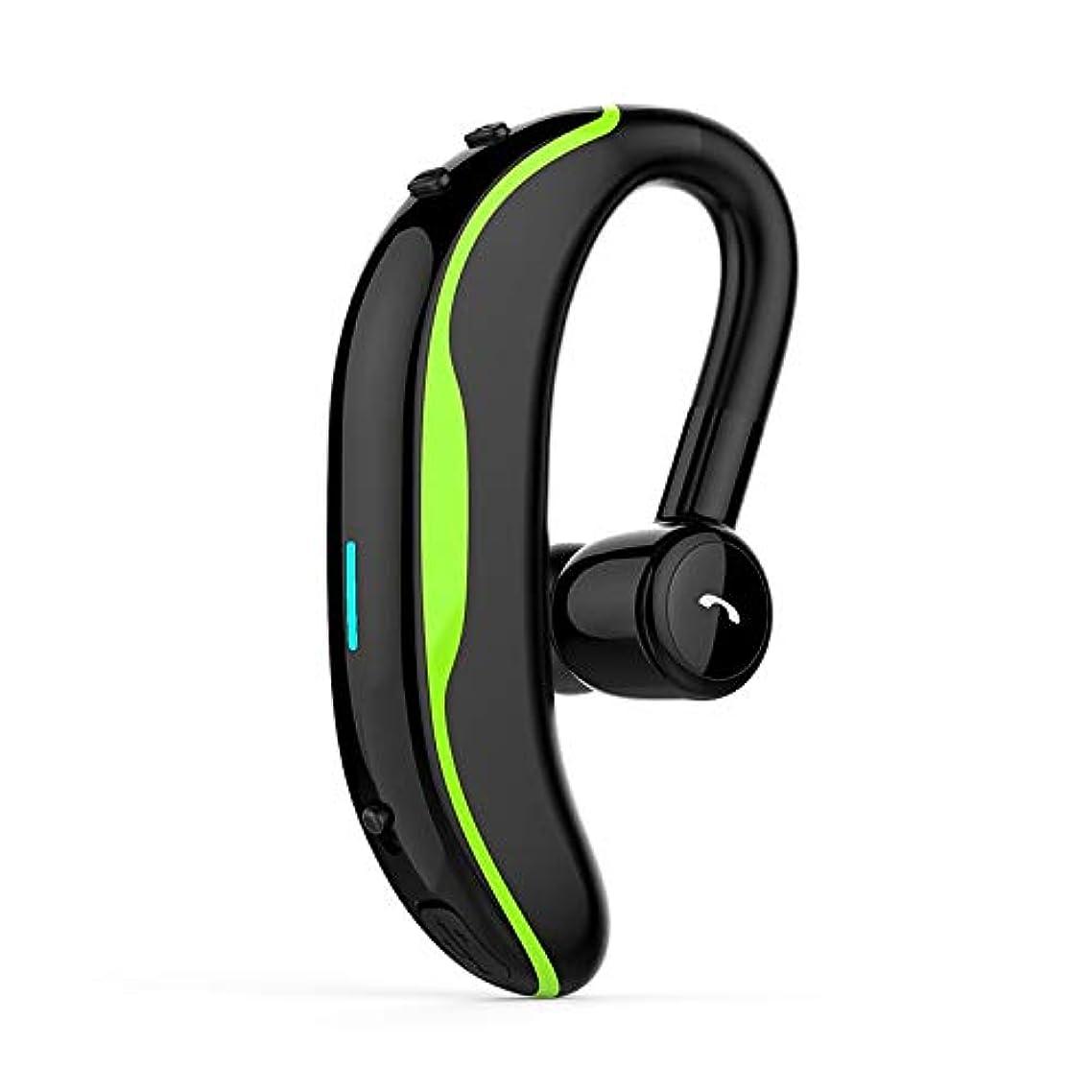 F600 Headphone Wireless Handsfree HD Mic Business Earphones Portable Ear-Hook Long Standby Sports Headsets