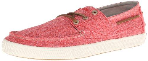 Tretorn Otto Linen Fashion Sneaker, Rot (Feuerrot), 37 EU