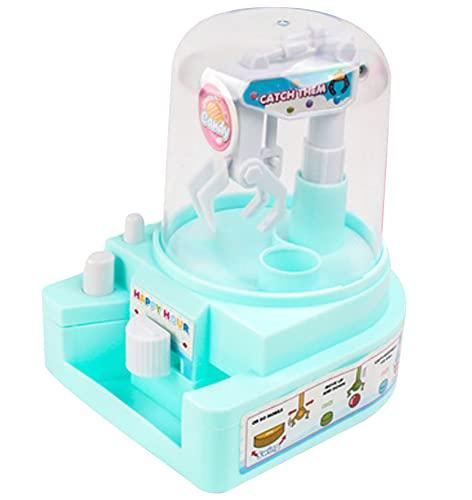 Máquina de garra para niños Muñecas Wopin- Mini Juguetes Operado Gamer Máquina expendedora Luz Grabber Regalos para niños Manualidades para niños Artes Creativas de Bricolaje Colorido