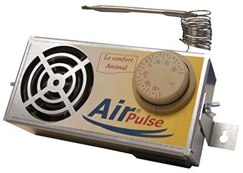 Chauffage Air-Pulse poulailler, Niche, clapier - sans...