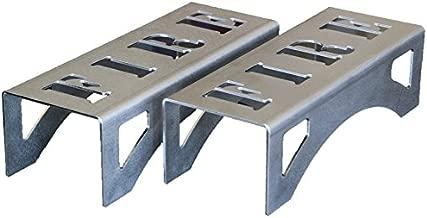 Morillos compactos para estufas de leña e insertos, diseño moderno y elegante