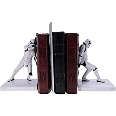 Nemesis Now Officially Licensed The Original Stormtrooper Bookend Figurines, White, 18.5cm #4