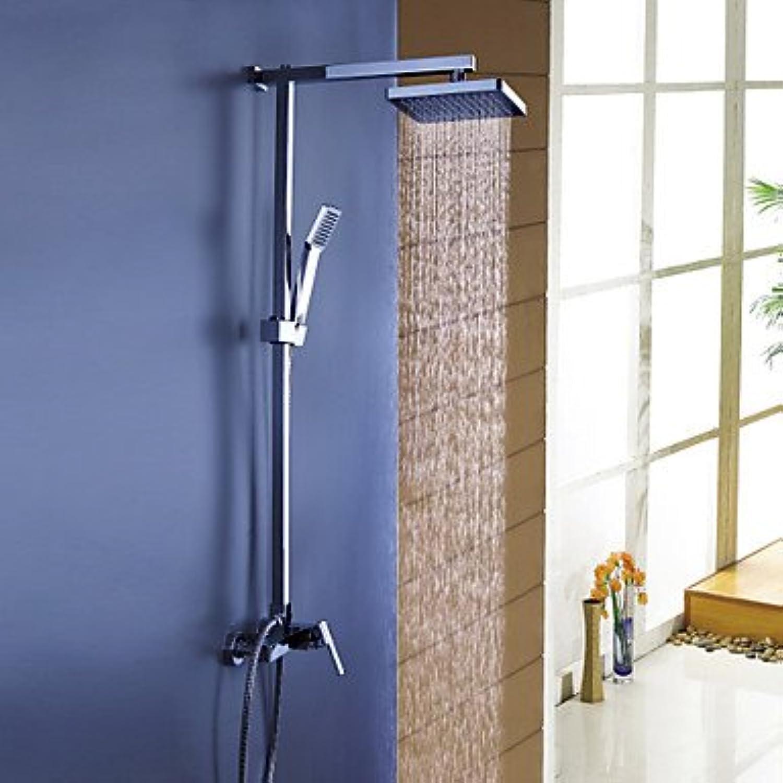 YAMEIJIA Duscharmaturen - Moderne Chrom Duschsystem Keramisches Ventil