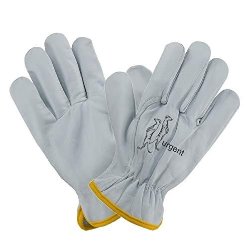 Arbeitshandschuhe 12040-12 Paar - MONTAGEHANDSCHUHE Handschuhe AUS Ziegenleder LEDERHANDSCHUHE (10)