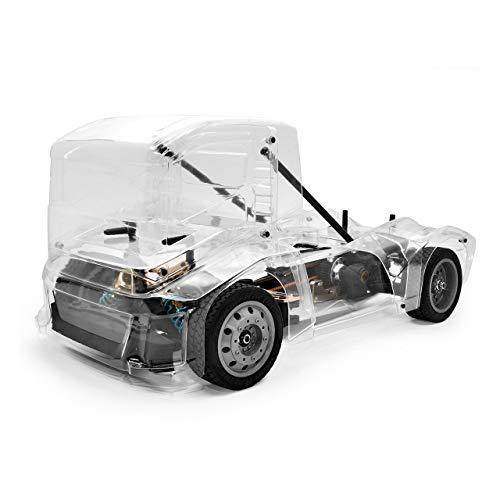 HoBao Hyper EPX Semi Truck On-Road ARR klare Karosserie