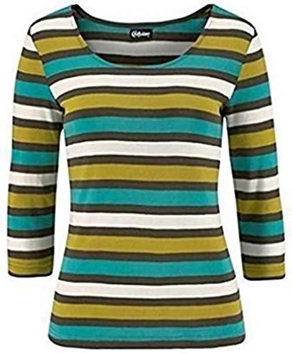Chillytime Shirt Langarmshirt Damen Bunt Gr. 32/34